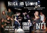 Flyer für Hardcore Konzert